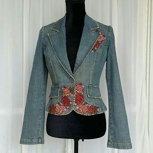 Jackets & Blazers - Wax Jeans Brand Denim Jacket